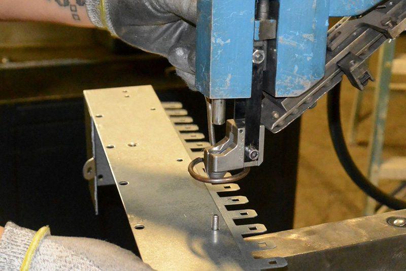 Metal Enclosure Fastening & Riveting