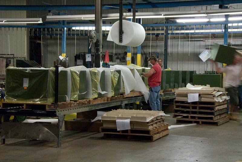 Metal Enclosure Assembly & Packaging